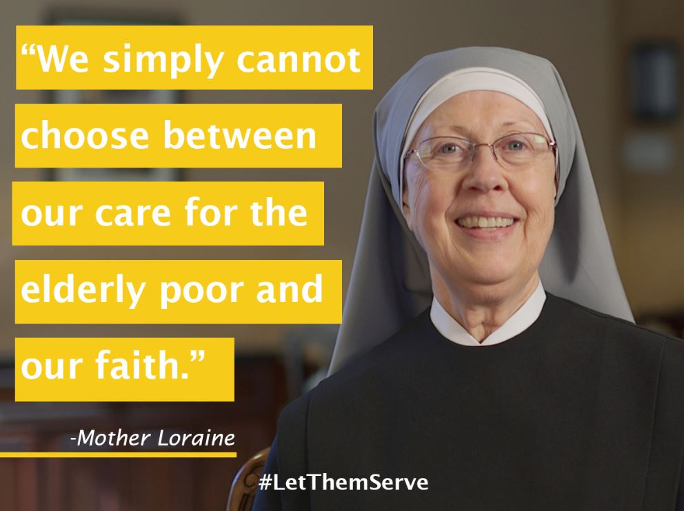 Elderly poor and faith_LittleSrs Quote